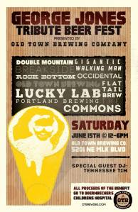 Old Town Brewing poster