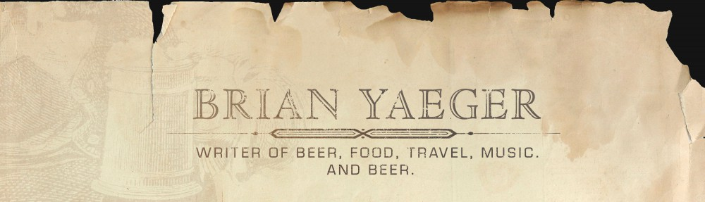 Brian Yaeger: Beer Writer
