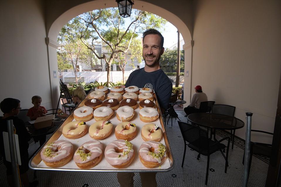 Hook and Press Donuts, doughnuts, Santa Barbara